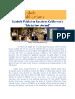 Sunbelt Publisher Receives Award