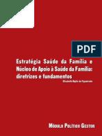 ESF e NASF - Diretrizes e Funcionamentos