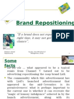 Brand Re Position