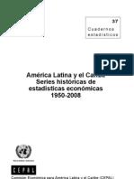 CEPAL_América Latina y el Caribe_Séries Históricas Estadísticas