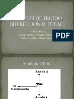 Tiristor de Triodo Bidireccional (Triac)