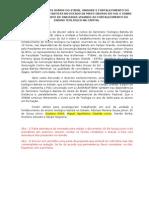 Relatório Reunião em CG sobre STBOB