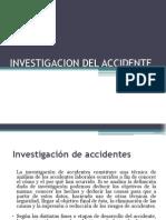 Investigacion Del Accidente