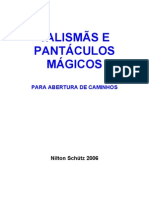 TALISMÃS E PANTÁCULOS MÁGICOS