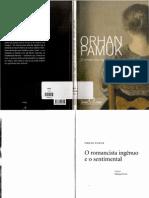 PAMUK, Orhan - O romancista ingênuo e o sentimental