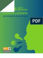 Dialogos Sobre Educacion Preescolar
