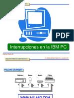 11-Interrupciones en La Ibm Pc