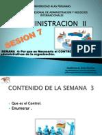 Sesion 7 Adm II-el Control en Las Actividades Adm.