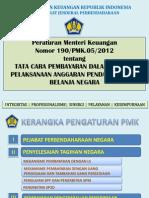 Pmk 190_pmk.05_2012 Pembayaran Apbn