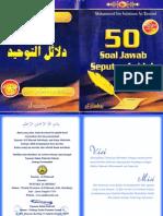 50 Soal Jawab Seputar Aqidah - Muhammad Bin Sulaiman at-Tamimi_2