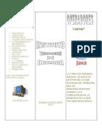 Triptico Java