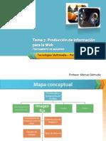 Producción de medias para la Web