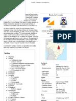 Tocantins – Wikipédia, a enciclopédia livre