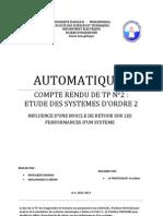 Automatique i Tp2