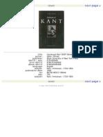 Immanuel Kant Hoffe