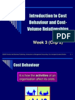 Week3 Lecture -Introduction to Cost Behaviour CVP Relationships(1)