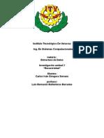 Recursividad EDD Trabajo de Investigacion