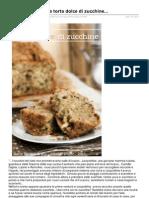 Nellacucinadiely.it-leopoldina e La Sua Torta Dolce Di Zucchine