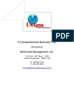 USAgua Business Plan 020410
