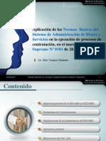 Aplicación de las NB SABS en Bolivia