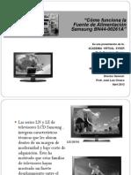 Conferencia Virtual Abril 2013_fuente Alimentacion Samsung Bn44-00261 a _ Version Bn Material de Trabajo