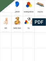 Flashcards Toys Pinyin