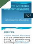 Computer Integrated Manufacturing (Cim)_pnkj