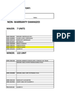 Apl Damaged and Repaired Report 2013