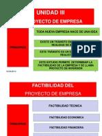 UNIDAD 3 Proyecto de Empresa Gerencia 1