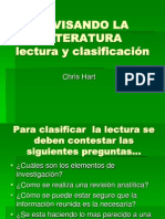 Revisando La Literatura Chris Hart