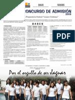 Prepa Lázaro Cárdenas Convocatoria Inscripcion 2009