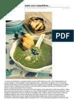 Nellacucinadiely.it-zuppa Di Piselli e Pesto Con Leopoldina (1)