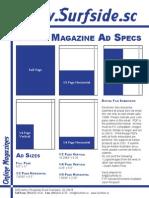 Surfside Magazine Ad Specs