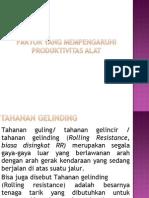 Rolling Ressistance (Pertemuan 5).ppt