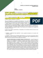 Modelo Para Periodistas de Demanda de Amparo Indirecto CHIAPAS Inconstitucionalidad Articulo 398 Bis