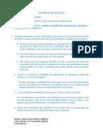 Informe de Las Peliculas