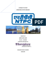 46704946 a Project to Study Operation of NTPC Shimadri Abinash Sahu
