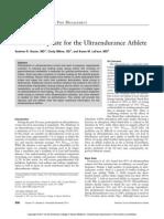 Curr Sports Med Rep Nutrition for Ultraendurance 11-2011