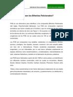 Qué son los Bifenilos Policlorados