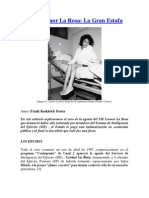 Caso Leonor La Rosa La Gran Estafa