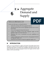Topic 6 Aggregate Demand and Supply