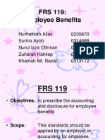 Frs 119 Employee Benefit