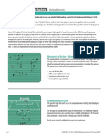 English Premier League Academy-Attacking Movements