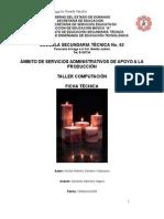 Análisis de Objeto Técnico La Vela