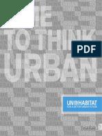Time to Think Urban - UN-Habitat Brochure 2013