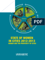 Gender and Prosperity in Cities