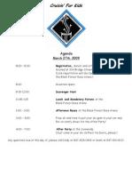 ACC Agenda 2009