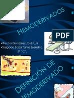 Hemoderivados I