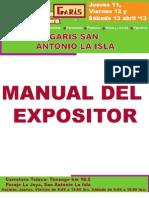Manual Web Expo Gar Is
