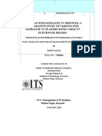 56818559 Dissertation Project on DTH Services New